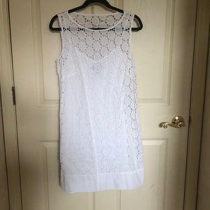 Sz 10 Laundry Lace Sheath Dress